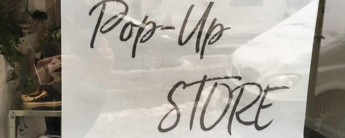 Pop up Store im Bienewitz